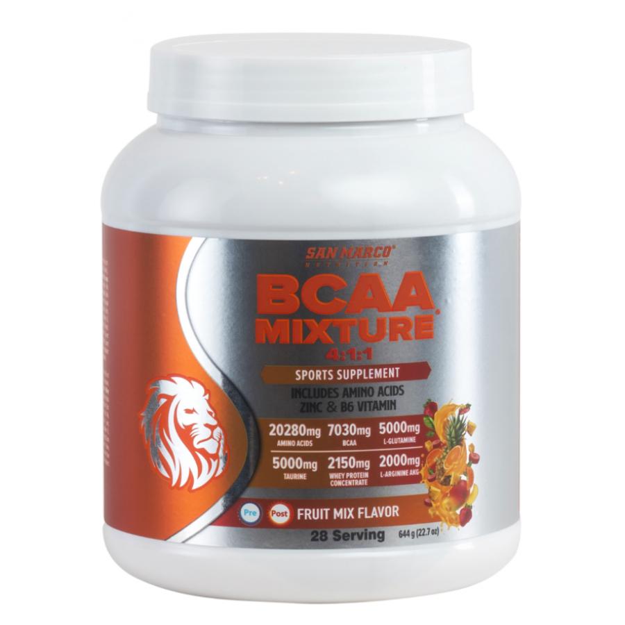 Sanmarco BCAA Mixture 644 Gr Karışık Meyve Aromalı